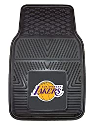 Exclusive By FANMATS NBA - Los Angeles Lakers Heavy Duty Vinyl Car Mats