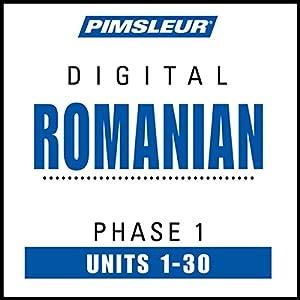 Romanian Phase 1, Units 1-30 Speech