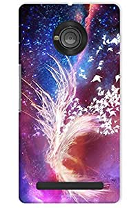 IndiaRangDe Case For Micromax YU Yuphoria Printed Back Cover