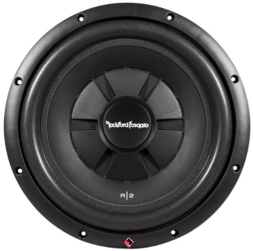 "Brand New Rockford Fosgate R2Sd4-12 12"" Prime R2 Dual 4 Ohm Shallow Subwoofer With 500 Watt Peak / 250 Watt Rms"