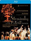 ストラヴィンスキー : バレエ 「火の鳥」 「春の祭典」 (Stravinsky and the Ballets Russes ~ Le Sacre du printemps | The Firebird / Mariinsky Orchestra and Ballet | Valery Gergiev) (Blu-ray)  [輸入盤] [日本語解説書付]