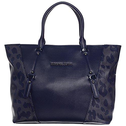 Versace Jeans, Borsa tote donna blu Blue