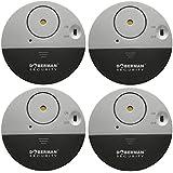 Doberman Security SE-0106-4PK Ultra-Slim Window Alarm (4 Pack)