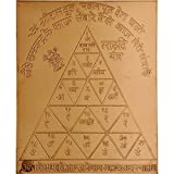 Redbag Lord Hanuman Protection Yantra In Copper (15.24 Cm, 12.7 Cm, 0.51 Cm)