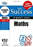 Various Maths Age 7-8: 10-Minute Tests (Letts Key Stage 2 Success)