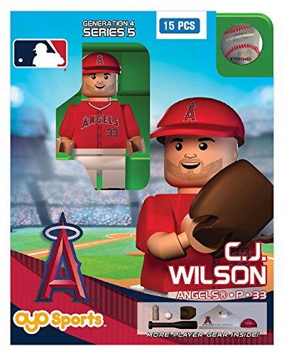 C.J. Wilson OYO MLB Los Angeles Angels G4 Series 5 Mini Figure Limited Edition