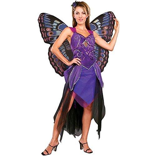 Rubie's Costume Co Purple Butterfly Costume, Standard