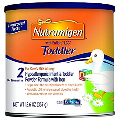 Nutramigen with Enflora LGG Toddler Formula - 12.6 oz Powder Can(Packaging May Vary) by Nutramigen