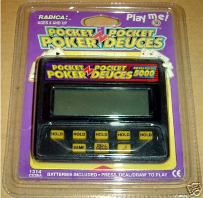 Buy Radica Pocket Poker Deuces Handheld