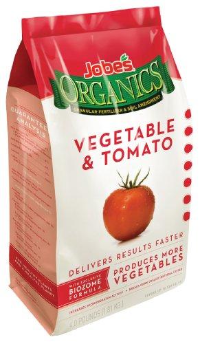 10 Most Popular Organic Fertilizer for Vegetable Garden