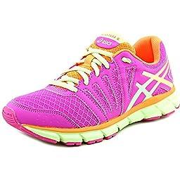 ASICS Gel Lyte 33 2 GS Running Shoe (Little Kid/Big Kid), Pink Glow/Pistachio/Hot Orange, 1.5 M US Little Kid