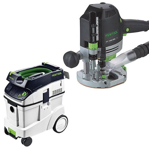 festool of 1400 eq router with t loc ct 48 dust extractor package best buy tools woodworking. Black Bedroom Furniture Sets. Home Design Ideas
