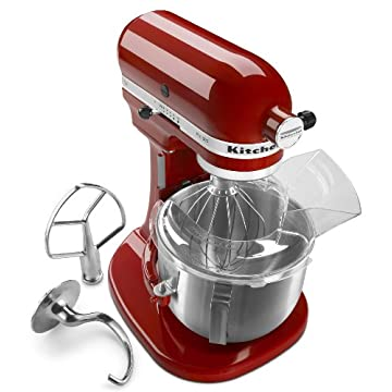 KitchenAid Pro 500 Series Stand Mixer, Empire Red (KSM500PSER)