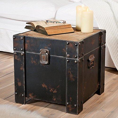 beistelltisch truhe com forafrica. Black Bedroom Furniture Sets. Home Design Ideas
