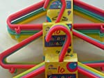 30 childrens coat hangers babys kids clothes new