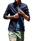 (ジョーカーセレクト(JOKER Select) テーラードジャケット 綿 麻 イタリアンカラー M ネイビー(85)