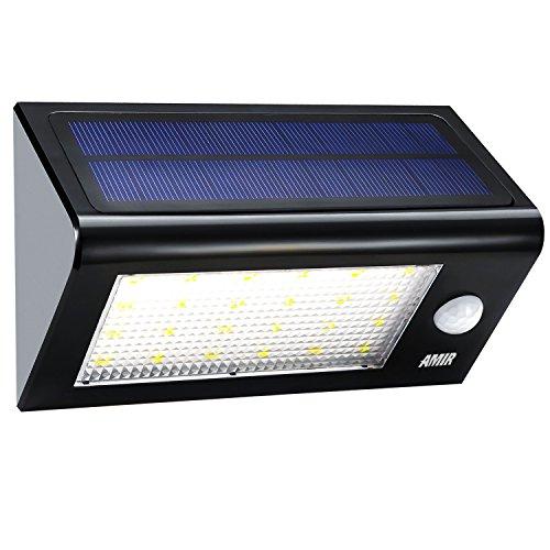 amir garten solarleuchten wireless wetterfeste sicherheits licht solarleuchten mit. Black Bedroom Furniture Sets. Home Design Ideas
