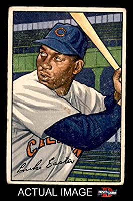 1952 Bowman # 95 Luke Easter Cleveland Indians (Baseball Card) Dean's Cards 2 - GOOD
