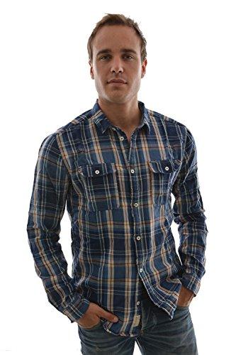 Pepe Jeans uomo camicia a maniche lunghe