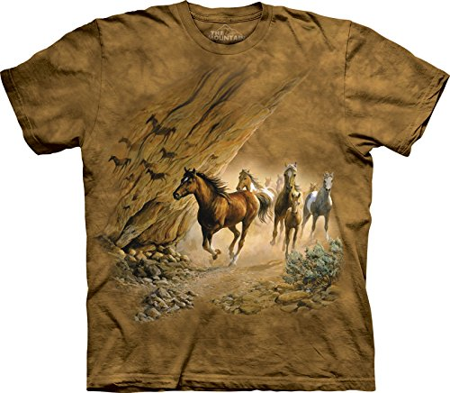 The Mountain Maglietta Sacred Passage Horses Bambino Unisex XL