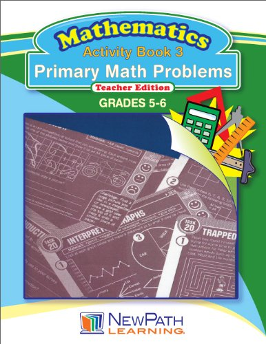 NewPath Learning Primary Math Problems Reproducible Workbook, Grade 5-6