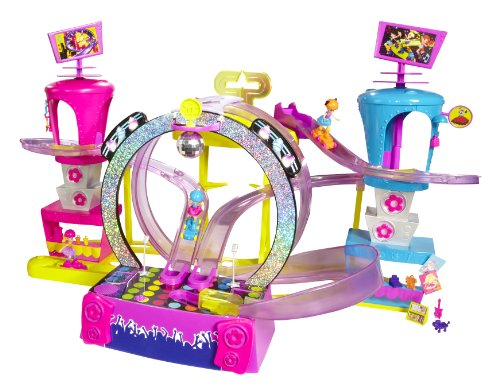 Mattel X0324 - Polly Pocket Rock und Skate Park mit DVD