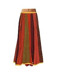 Sttoffa Womens Cotton Skirts -Multi-Colour -Free Size - B00MJO7J9A