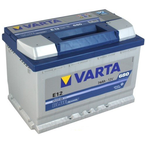VARTA E12 Blue Dynamic / Autobatterie / Batterie