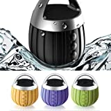 S2S Waterproof Bluetooth Speaker Subwoofer Mini Boombox (Green, Orange, Purple)