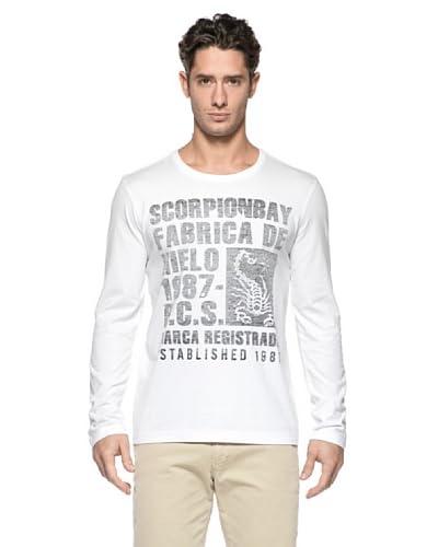 Scorpion Bay T-ShirtEvoluta [Bianco]