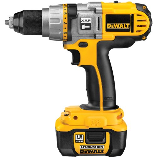 DEWALT  DCD970KL  18-Volt XRP Lithium-Ion 1/2-Inch Hammerdrill/Drill/Driver Kit