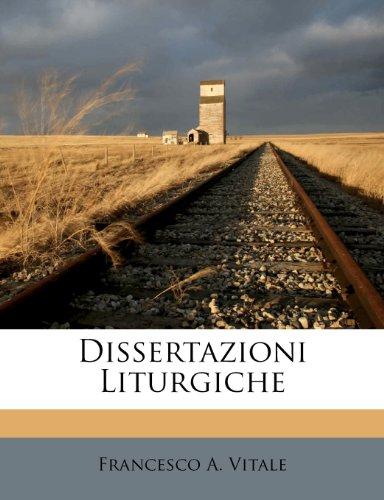 Dissertazioni Liturgiche