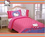 51pz4JLuZRL. SL160  Hello Kitty Microfiber Twin/Full Bedding Comforter