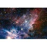 Posters: Espace Et Univers Poster - La Naissance D'Étoiles Dans La Nébuleuse De La Carène (91 x 61 cm)