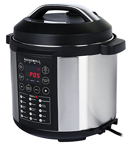 Rosewill RHPC-15002 7-in-1 Multi-Function Programmable 6L / 6.34 Qt Electric Pressure Cooker (Pressure Electric Cooker compare prices)