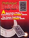 Bicycle Professional Invisible Card Deck - Blue or Red