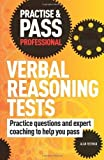 img - for Practise & Pass Professional: Verbal Reasoning Tests by Redman, Alan (2010) Paperback book / textbook / text book