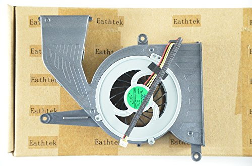 Eathtek New Laptop Cooling Fan For HP OMNI ALL IN ONE 120-1132 120 Series, compatible with part numbers 47WJ7FA0000 658909-001 AB1305HX-PDB AB13005UX18DB00 0QK3B (Note: The part# may be different)