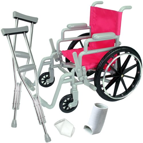 Dollysand Doll Wheelchair Set For 18 Quot Dolls Like American