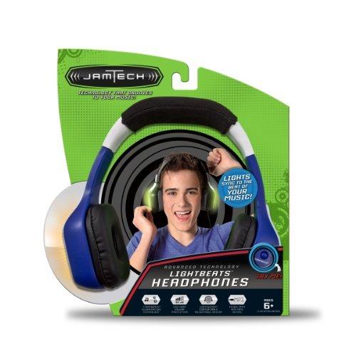 First Act Fi606 Jamtech Lightbeats Headphones - Blue Color: Blue Toy, Kids, Play, Children