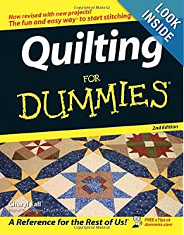 Free Quilt Patterns For Dummies : Beginning Quilting Books
