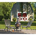 Living Accents Cast Iron Chimenea with Poker