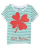 Petit Bateau - T-shirt - À rayures - Fille