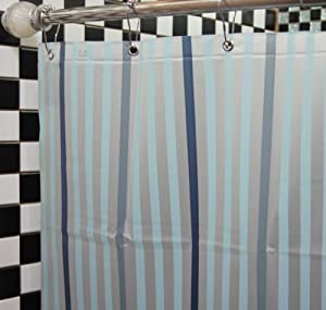 dopobo peva strip shower curtain bathroom bath extra long