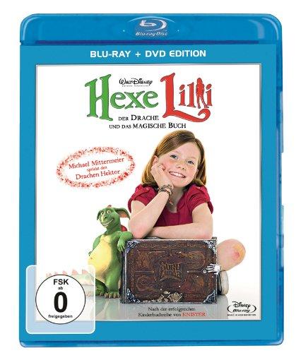Hexe Lilli - Der Drache und das magische Buch (+ DVD) [Blu-ray]