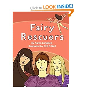 "Fairy Rescuers Karen Langtree and Cat O""Neil"
