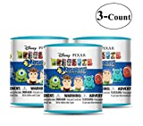 Disney Pixar Mash'Ems (choices may vary) Blind Pack Capsule - 3 Pack (3 Mashems Capsules per order) - Toy Story - Finding Nemo - Monsters inc mini Action Figures