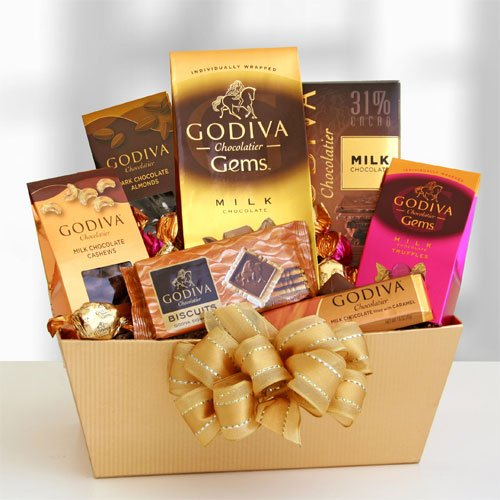 Exquisite Expressions Premium Chocolate Gift Basket | Birthday Gift Idea