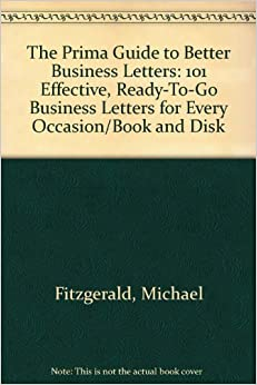 The Prima Guide To Better Business Letters Michael