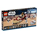 Lego Star Wars 66368 Super Emballage 8092 Lukes Landspeeder et 8083 Rebel Trooper et 8084 Snowtrooperpar LEGO